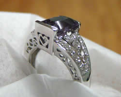 custom engagement rings Boise