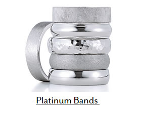 Platinum Wedding Bands Boise